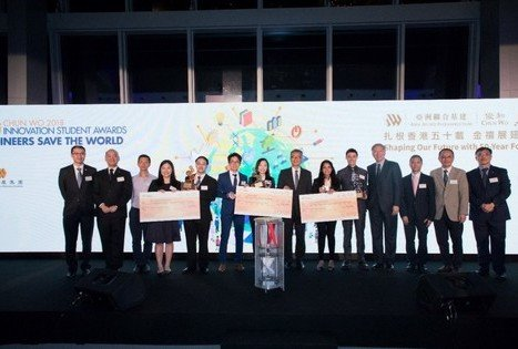 "Result Announcement of ""Chun Wo Innovation Student Awards"""
