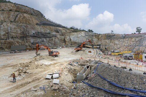 Foundation Works for Public Rental Housing Development in Kwun Tong at Anderson Road